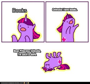 Oh Twilight. What are we going to do with you? (I don't know how to dray books on the thing.)