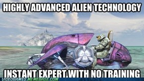 Every Game With Alien Technology