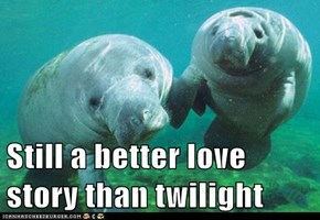 Still a better love story than twilight