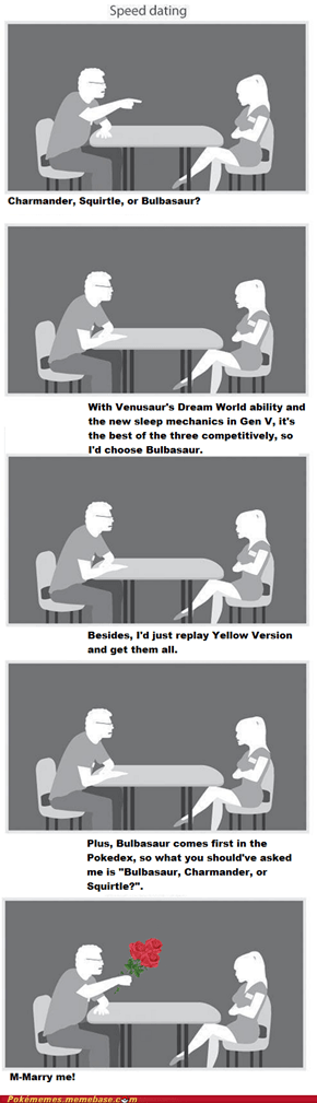 Pokemon Speed Dating Win