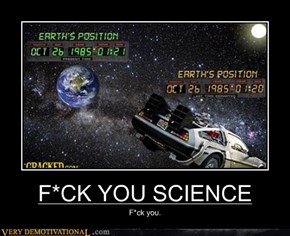 F*CK YOU SCIENCE