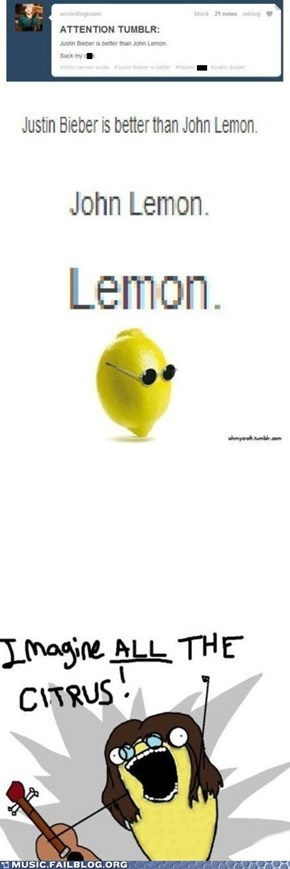 I Am the Lemon