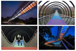 """Nice Structure of the Day: """"Slinky Springs To Fame"""" Bridge"""