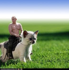 Poutin riding