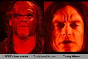 WWE's Kane in mask Totally Looks Like Tommy Wiseau