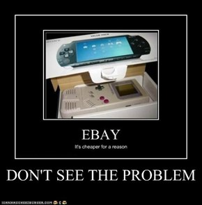 DON'T SEE THE PROBLEM