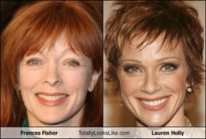 Frances Fisher Totally Looks Like Lauren Holly