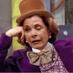 Lucille Bluth as Condescending Wonka