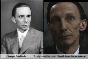 Joseph Goebbels Totally Looks Like Death from Supernatural