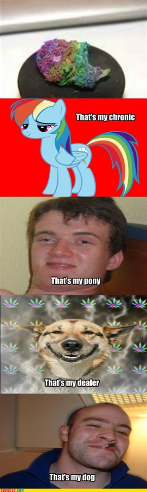 Chrony, Pony, Brony, Stoney... and Greg
