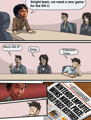 Miyamoto Listens to Great Ideas