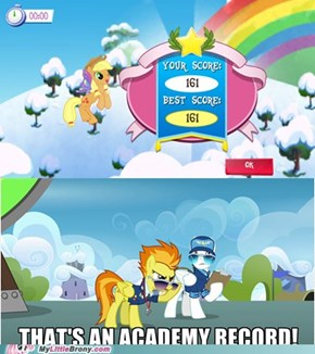 Applejack is Best Pegasus