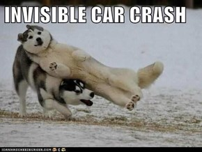 INVISIBLE CAR CRASH