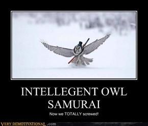 INTELLEGENT OWL SAMURAI