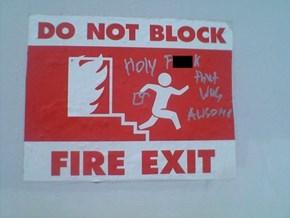 Suddenly, Arson!