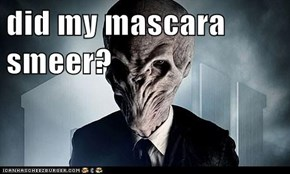 did my mascara smeer?