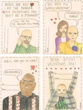 Breaking Bad Takes Valentine's Day