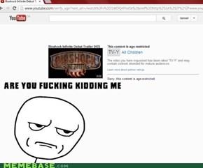 Seriously YouTube?