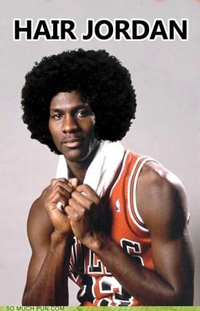Michael Hair Jordan
