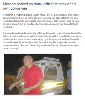 Citizen's Arrest, South African Style
