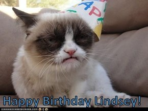 Happy Birthday Lindsey!