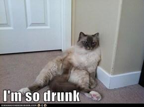 I'm so drunk