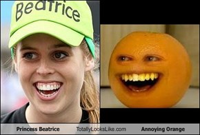 Princess Beatrice Totally Looks Like Annoying Orange