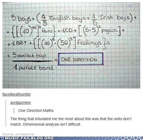 Learn to Math Before You Fangirl!
