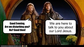 Middle Earth Religious Door-Knockers