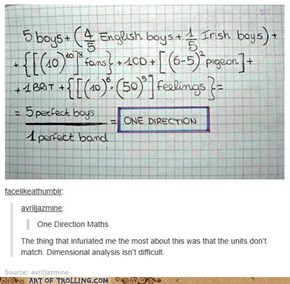 Learn to Math before you Fangirl