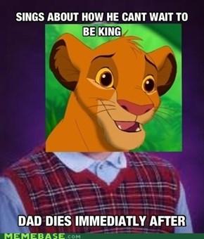 Bad Luck Simba