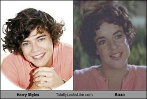 Harry Styles Totally Looks Like Rizzo