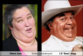 "Mama June Totally Looks Like J D ""Boss"" Hogg"