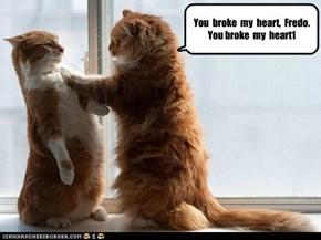 You  broke  my  heart,  Fredo.  You broke  my  heart1