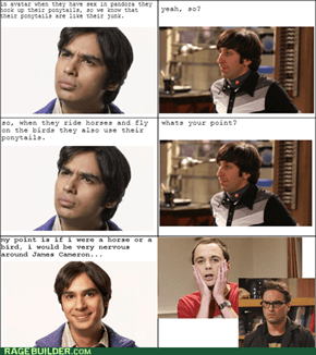 The Big Bang Theory: Raj's Avatar theory
