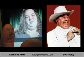 ThuMbama June Totally Looks Like Boss Hogg