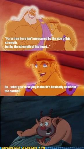 Zeus tells it like it is.