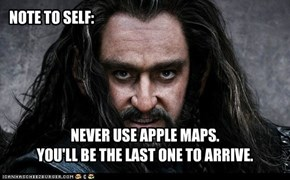 Apple Maps for Middle Earth