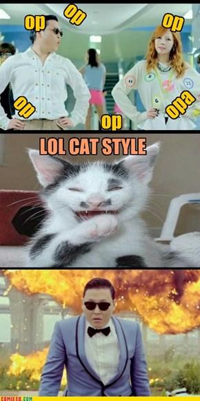 lol cat style