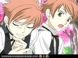 Hikaru and Kaoru Hitachiin