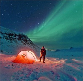 A Night Under the Aurora