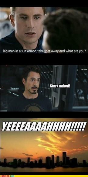 Bare Tony!