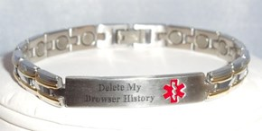 The Living Will Medical Bracelet