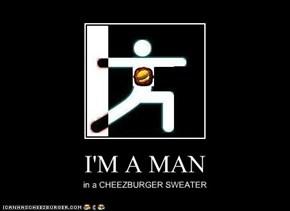 I'M A MAN