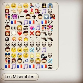 Les Miserables Via Emoticons