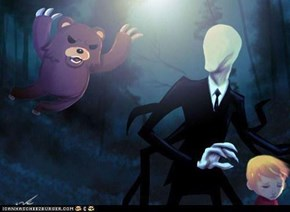 Pedobear vs. Slenderman