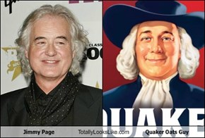 Jimmy Page Totally Looks Like Quaker Oats Guy
