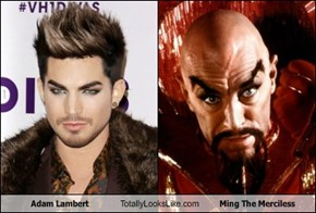 Adam Lambert Totally Looks Like Ming The Merciless