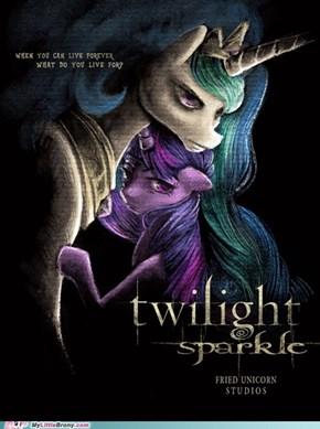 She sparkles