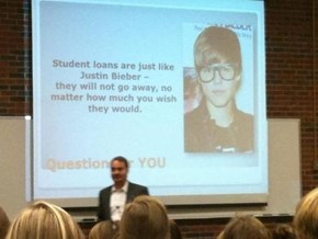 What Do Student Loans and Justin Bieber Have in Common?